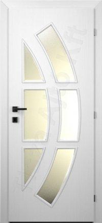 festett fehér belső ajtók 031ü
