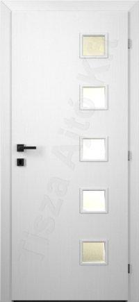 festett fehér belső ajtók 079ü