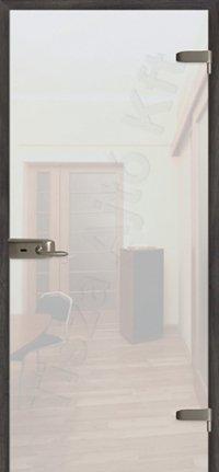 Bizánc üveg ajtó